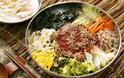 10月26日(土曜日)6.00pm:韓国風、お肉と野菜たっぷりメニュ-