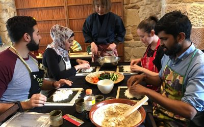 Sep 2018 | Workshop | shojin-ryori at Ryokan GOJYUAN