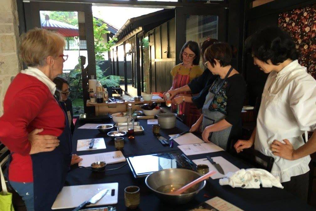 May 2016 | Workshop | shojin-ryori at Ryokan GOJYUAN